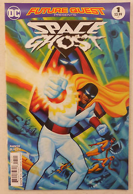 SPACE GHOST & HERCULOIDS Comic # 1 ~ BEAUTIFUL ART! ~ Future Quest Presents DC