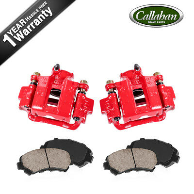 FRONT + REAR Red Coated Brake Calipers For 2006 2007 2008