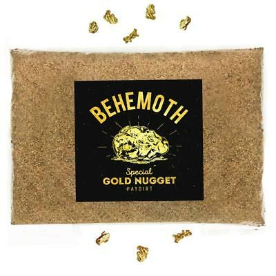 BEHEMOTH 'SPECIAL GOLD NUGGET PAYDIRT' - Chunky Gold Panning Paydirt