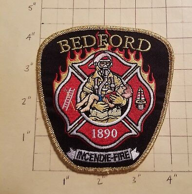 Bedford (QC,Canada) Fire Department Patch     ***NEW***