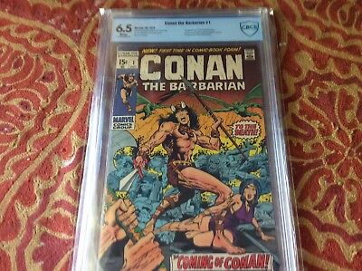 CONAN THE BARBARIAN 1 CBCS 6.5 - WHITE Pages 1ST CONAN