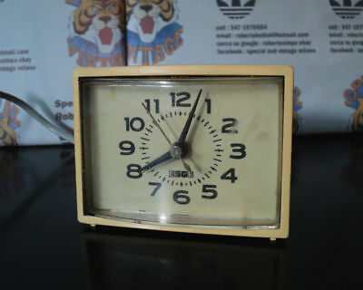 Esge General Electric Sveglia Sveglietta Vintage Alarm Clock Made In Germany