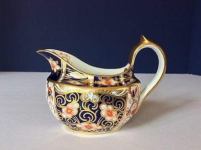 ROYAL CROWN DERBY Traditional Imari #2451 CREAMER With MARKS ANTIQUE 1904