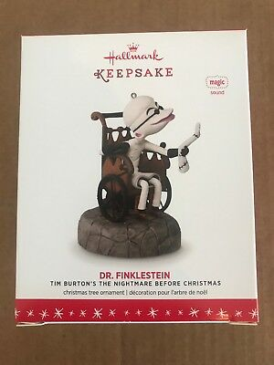 Dr. Finklestein 2016 Hallmark Disney Ornament Burton Nightmare Before Christmas