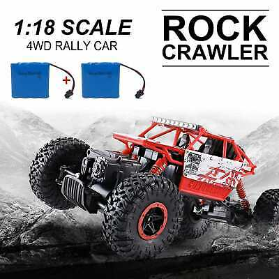 4WD RC Monster Truck Off-Road Vehicle 2.4G Remote Control Crawler