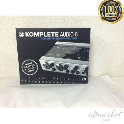 NATIVE INSTRUMENTS KOMPLETE AUDIO 6 Musical instrument NEW genuine from JAPAN