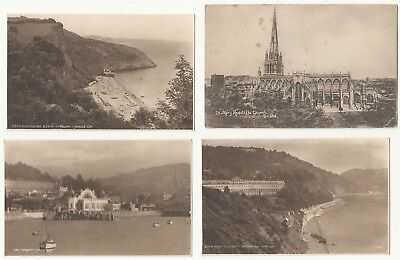England postcards. multiple locations. 14 cards . All printed cards
