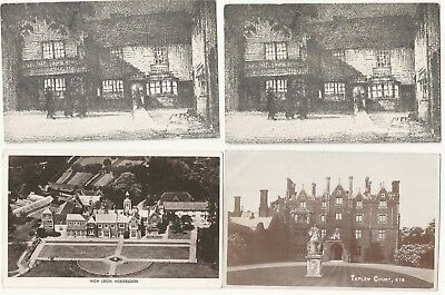 England postcards. multiple locations. 15cards 12real photo. 3 printed 1900-1960