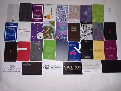 33 Totally Different Hotel Room Key Card From  (NYC)