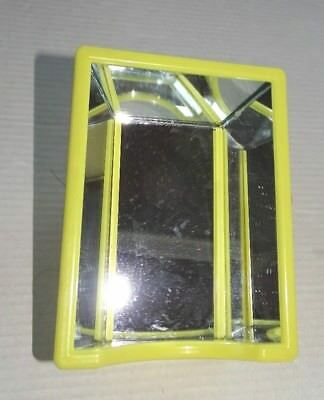 """J.W. Pet Company Hall of Mirrors cage side mount Yellow frame 3"""" x 4"""" 2009"""