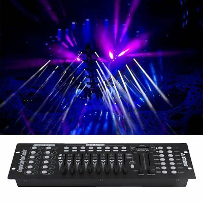 192 Channels DMX512 Controller Console Fo Stage Light Party DJ Laser Operator HJ