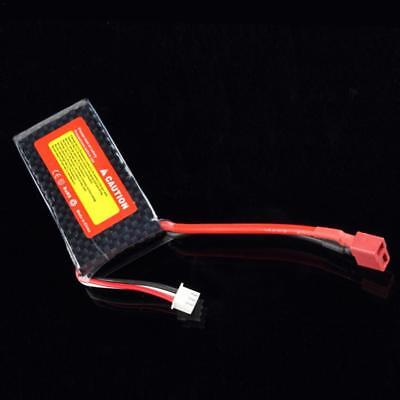 7.4V 25C 1500MAH Lipo Battery For RC Helicopter JST-XH Balance Plug Charge