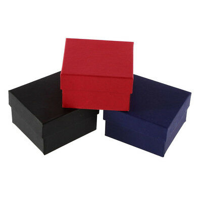UK_ Present Gift Boxes Case For Bangle Jewelry Ring Earrings Wrist Watch Box Pro