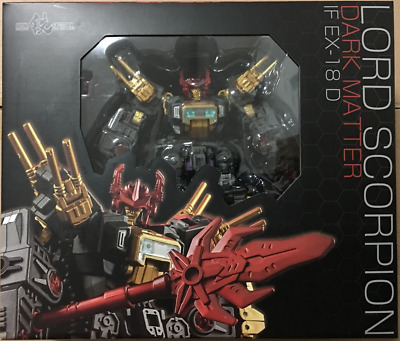 6Iron Factory Transformers IF EX-05H Wind Blade Iron Giant Witch Hunter Edition