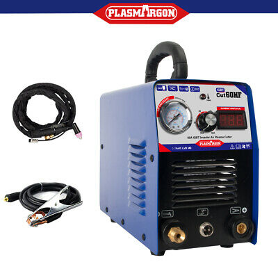 IGBT Digital 60AMP Plasma Cutter Machine & AG60 Torch & Free Consumables in CA