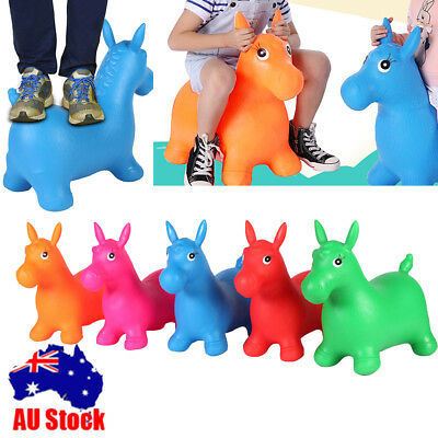 Thickened Inflatable Children Bouncer Horse Bouncing Animal Hopper For Baby kids