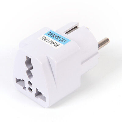 USA US UK AU To EU Europe Travel Charger Power Adapter Converter Wall Plug Home&