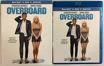 Overboard 2018 Blu Ray Dvd 2 Disc Set + Slipcover Free Shipping Eugenio Derbez