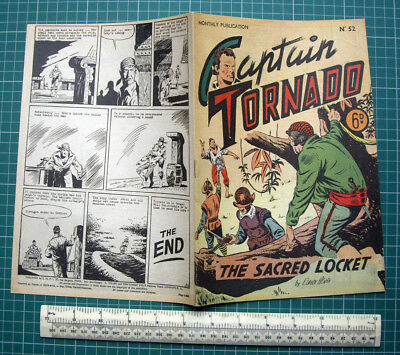 1952 SNPI Paris/Miller UK. Captain Tornado #52 by Claude Henri.  Pirates