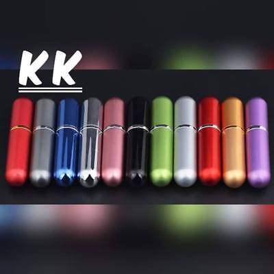 Mini Refillable Perfume Atomizer Bottle Travel Scent Pump Portable Spray Case