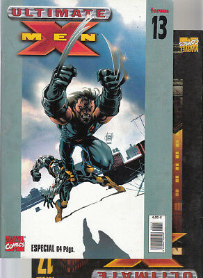 ULTIMATE  X-MEN    Nºs :  13. 17.    ( LOTE  2   NUMEROS )   PANINI.