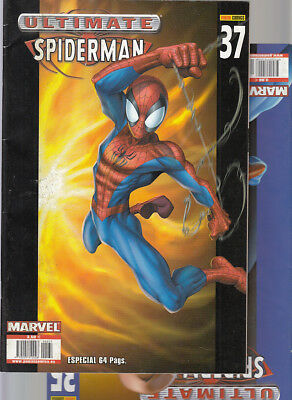 ULTIMATE  SPIDERMAN    Nºs :  35. 37 DOBLE    ( LOTE  2   NUMEROS )   FORUM.