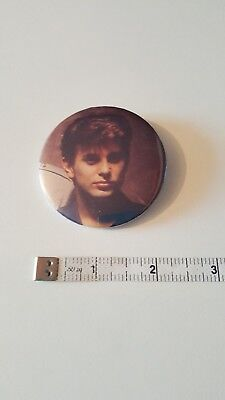 1980s Duran Duran Button Badge Pin - Roger Taylor 1
