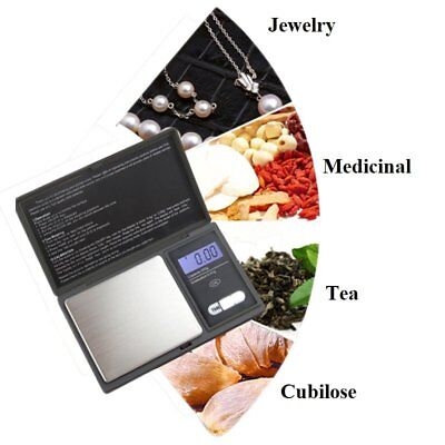 0.01G-200G Digital Pocket Weighing Mini Scales Gold Kitchen Jewellery Scale Herb