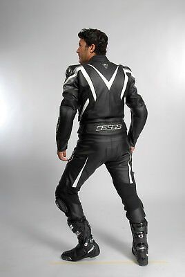 Ixs Leather Suit - Fireball - 2 Piece - 1A-Rindsnappaleder