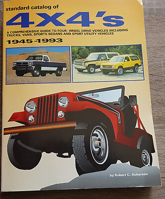 Buch , Standard Catalog of 4 x 4's , 1945 - 1993 by Robert C. Ackerson