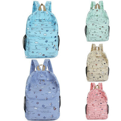 Unisex Men Women Classic Travel Backpack School Laptop Bags Shoulder Rucksack