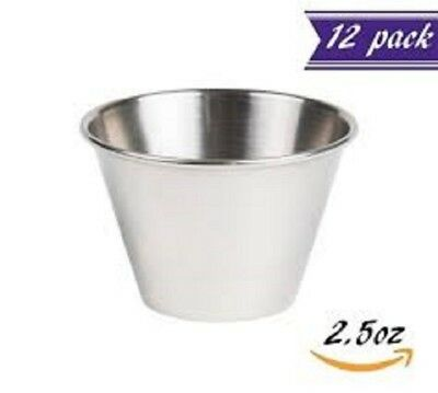 Member's Mark Stainless Steel Sauce Cups - 12 pk.