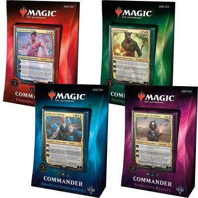 Magic the Gathering - Commander Multiplayer Pack 2018 - Set of 4