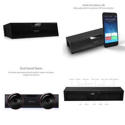 Bluetooth Stereo Lautsprecher, BX-100 LED Anzeige Tragbare Multifunktions Drahtl