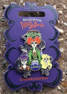 Disney Mickey's Not So Scary Halloween Party Hocus Pocus 2018 Trading Pin NEW