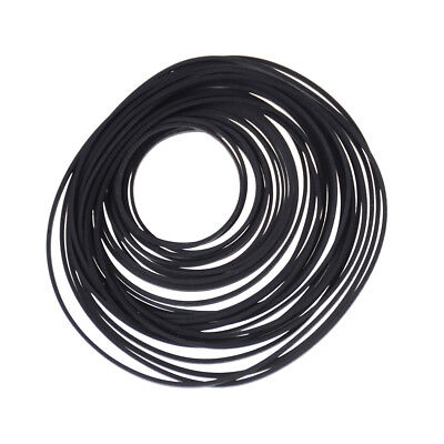 40pcs Small Fine Pulley Pully Belt Engine Drive Belts For DIY Toys Module Car BC
