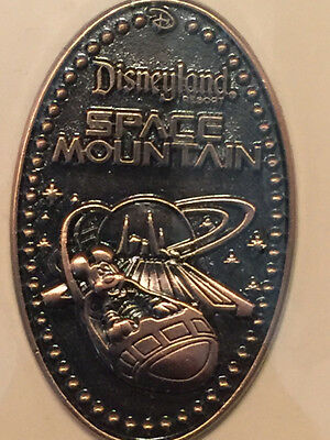 Space Mountain Mickey Mouse - Walt Disney Imagineering LE 250 Pressed Penny WDI