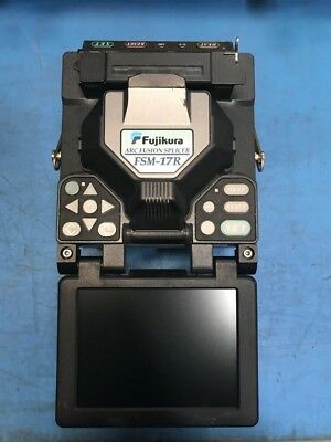 Fujikura FSM-17R Fiber Optic Fusion Splicer