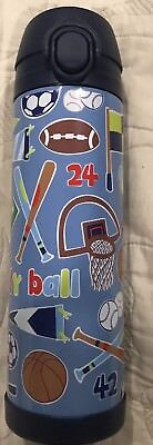 Pottery Barn Kids PBK Mackenzie Jr Varsity 2pc Lunchbox/large water bottle NIB
