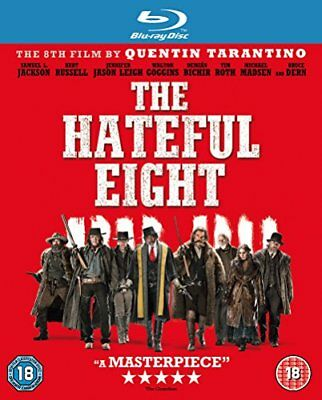 The Hateful Eight [Blu-ray] [DVD][Region 2]
