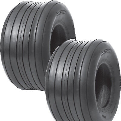 2) 15x6.00-6 Hay Tedder Farm Implement AG TIRE RIB 6ply T-L 710 lb wt capacity