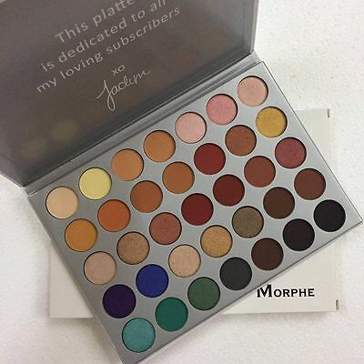 2017 NEWEST The Morphe Jaclyn Hill 35 Colors Eyeshadow Palette
