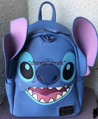 DISNEY PARKS EXCLUSIVE Mini Backpack Stitch Loungefly NWT -  129.99 ...