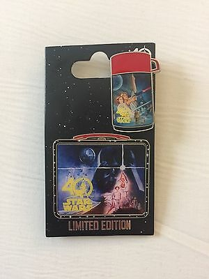 Star Wars Celebration '17 Exclusive 40th Anniversary Lunchbox Disney Trading Pin