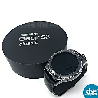 Samsung Galaxy Gear S2 Classic SM-R732 Black Leather iOS & Android