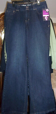 NEW Lane Bryant Tighter Tummy Technology Bootcut Stretch Jeans 32x31.5 Size 14