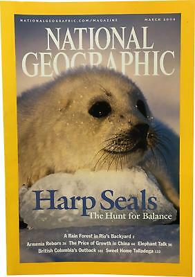 PRE-OWNED National Geographic March 2004 Geo Magazine CK309