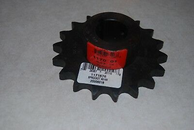 Roller Chain sprocket 60 x 18, 1 1/4 hub, new