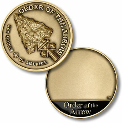 Order of the Arrow - Boy Scouts of America Bronze Challenge Coin