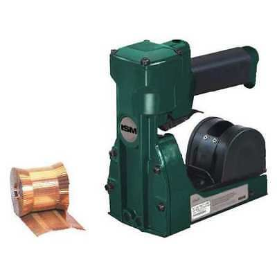 "PARTNERS BRAND ST119 Pneumatic/Roll Feed Carton Stapler,3/4"",Green"
